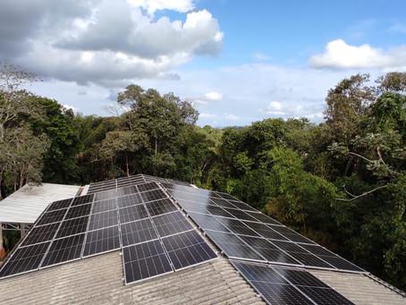 ENERGIA LIMPA - Mais economia e Menor impacto na natureza!