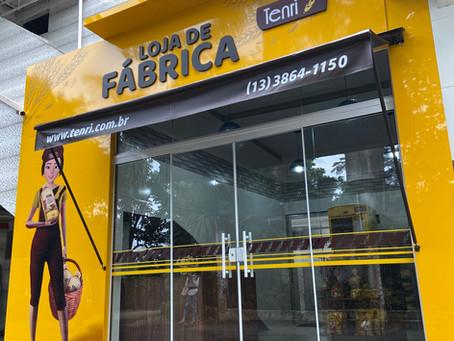 INAUGURAÇÃO LOJA DE FÁBRICA TENRI!
