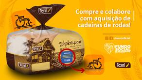 AÇÃO SOLIDÁRIA PARA AQUISIÇÃO DE CADEIRAS DE RODAS!
