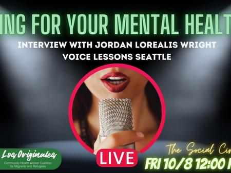 Canta por tu salud mental!🎙️🎶