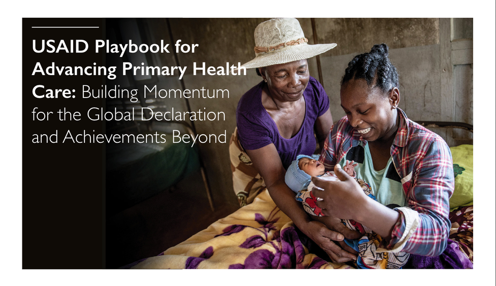 USAID Playbook for Advancing Primary Health Care cover