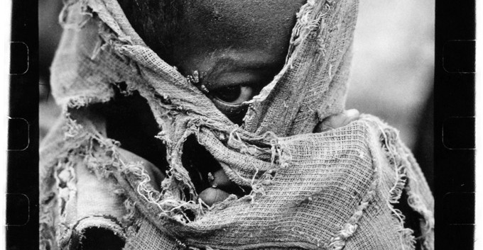 Somalia's Cry: This photo was nominated by the New York Times for a Pulitzer Prize, taken by Fiona McDougall.