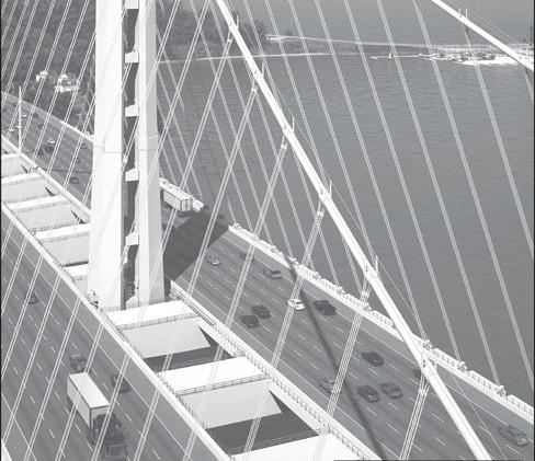 Print ad for bridge closure