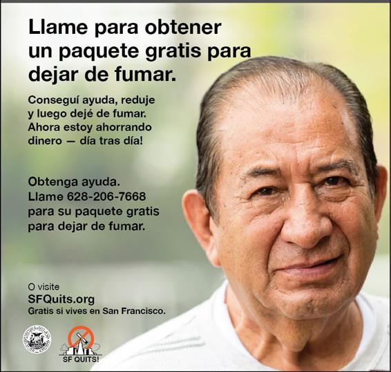 Print ad in Spanish
