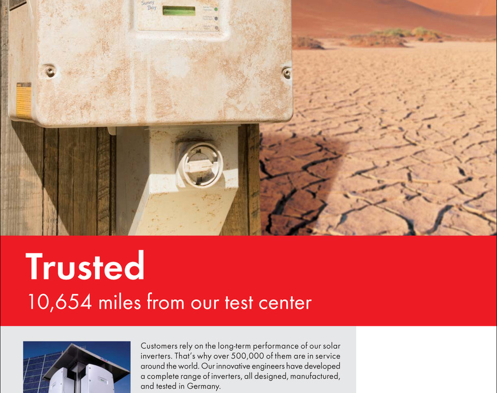 """""""Trusted"""" print ad"""