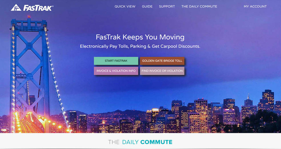 Website design, home page