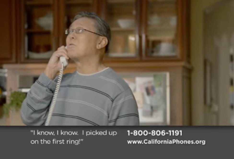 """California Phones"" TV spot"