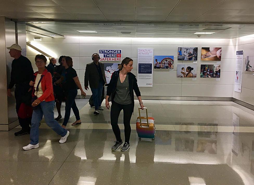 Dulles Airport Exhibit