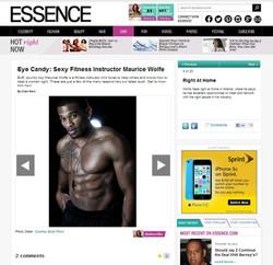 Feature in Essence Magazine