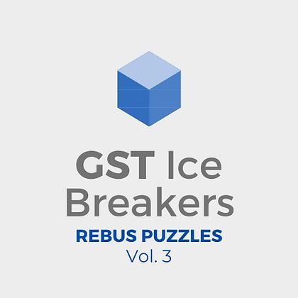 GST Ice Breakers - Rebus Puzzles Vol. 3