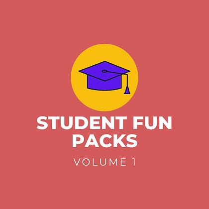 Student Fun Pack - Vol. 1