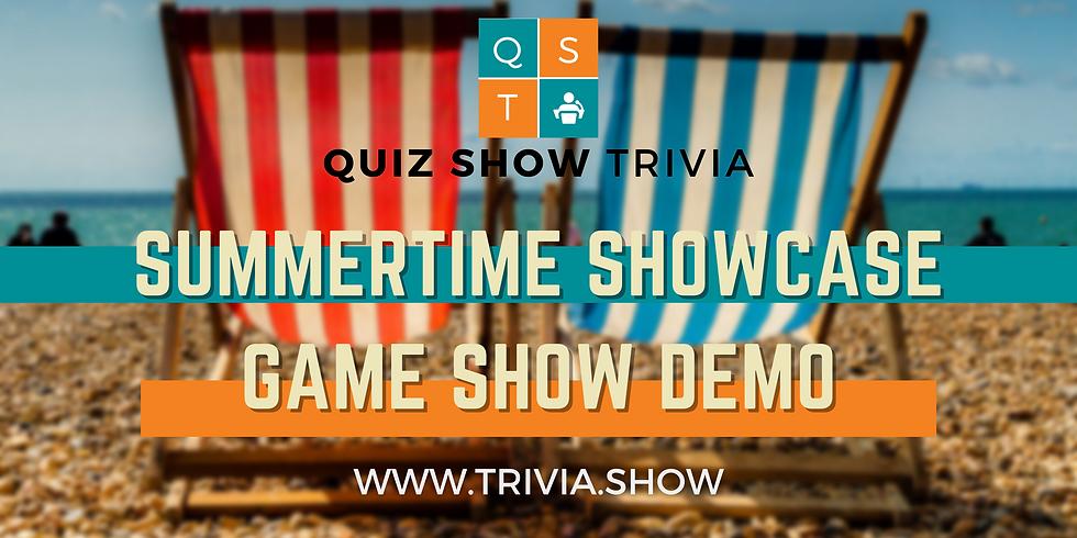 Quiz Show Summertime Showcase