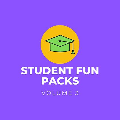 Student Fun Pack - Vol. 3