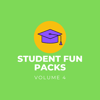 Student Fun Pack - Vol. 4