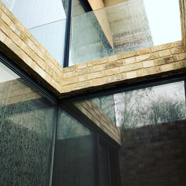 """""""A bit of brickwork reflection in the Ba"""
