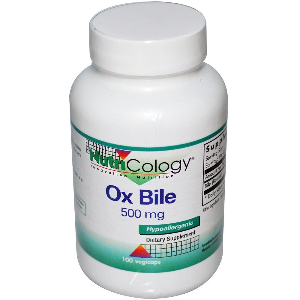 Ox Bile 500 mg