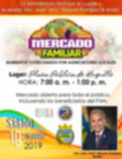 Luquillo Mercado Familiar  Octubre 2019_