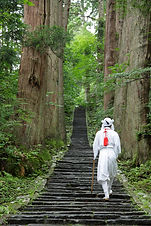 Hike to the top of Mt. Haguro