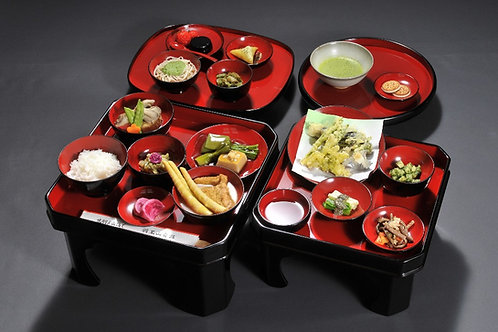 Shojin-Ryori at Saikan (15 dishes menu)