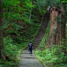 9. You will arrive at the Ninosaka slope
