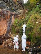 Mt. Yudono's yamabushi path