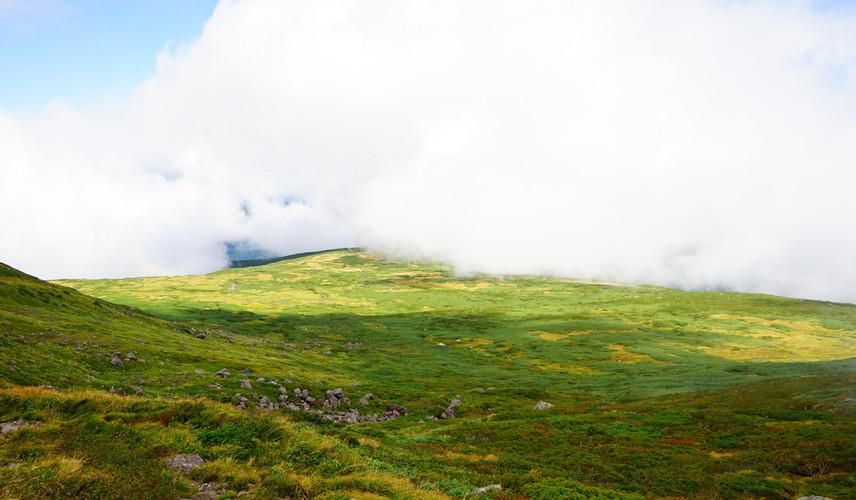 Mt. Gassan in August