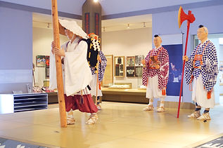 "Ideha is the old name for ""Dewa"". Ideha Cultural Museum exposes many items related to the culture of Dewa Sanzan's yamabushi monks and priests. Not all signs are translated into English, thank you for your understanding."
