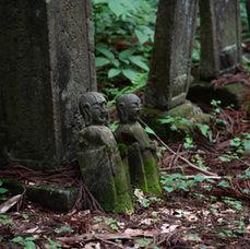 15. Ancient Buddhist statues