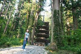 Hike to Mt. Haguro's pagoda
