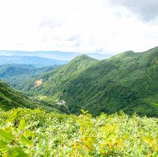 23. Appreciate the view on Yudono before getting into the jungle