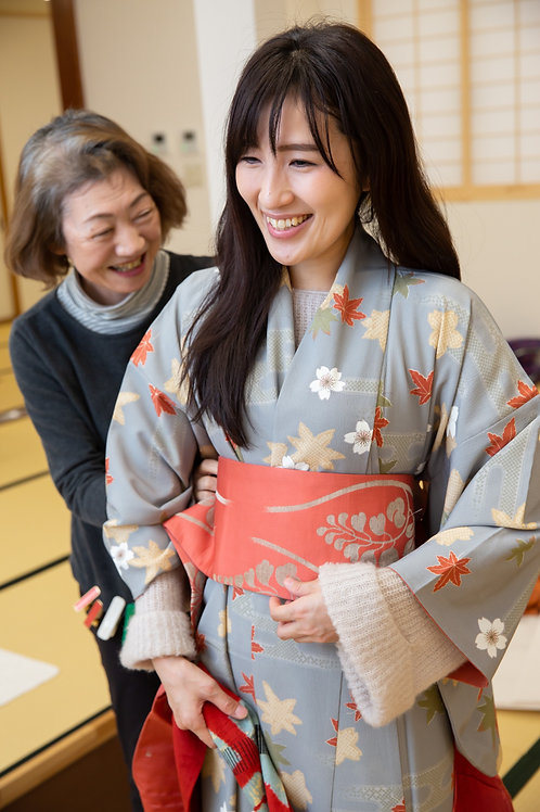 Wear a kimono in Tsuruoka for the day