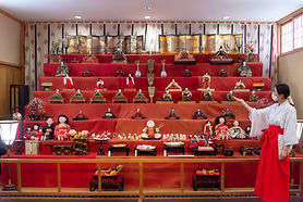 Shonai Shrine's Hinamatsuri Dolls Display