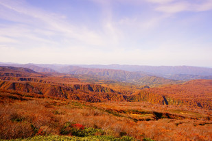 Gassan in autumn