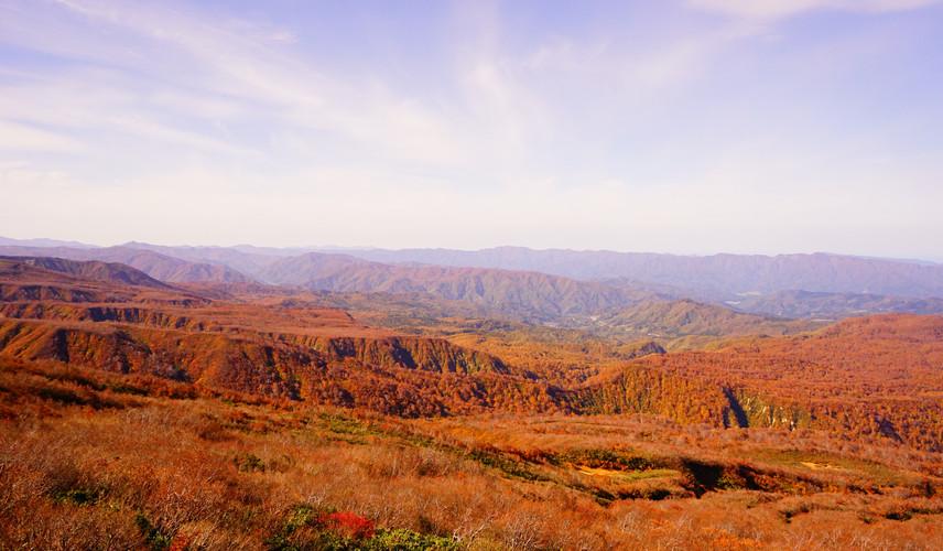 Mt. Gassan in mid September