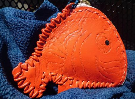 博多の色~鯛の小銭入れ~