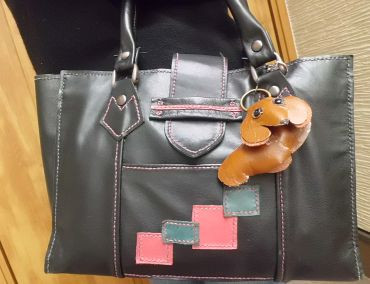 Tさんの手縫いバッグ