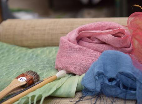生地・染料8月限定特価商品を掲載しました。