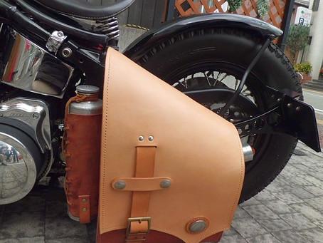 Kさんのサドルバッグ