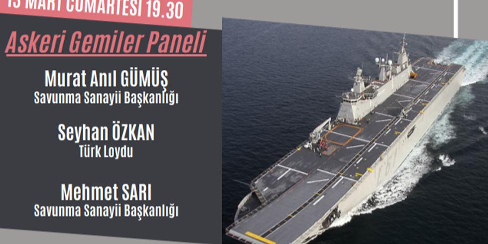 Askeri Gemiler Paneli