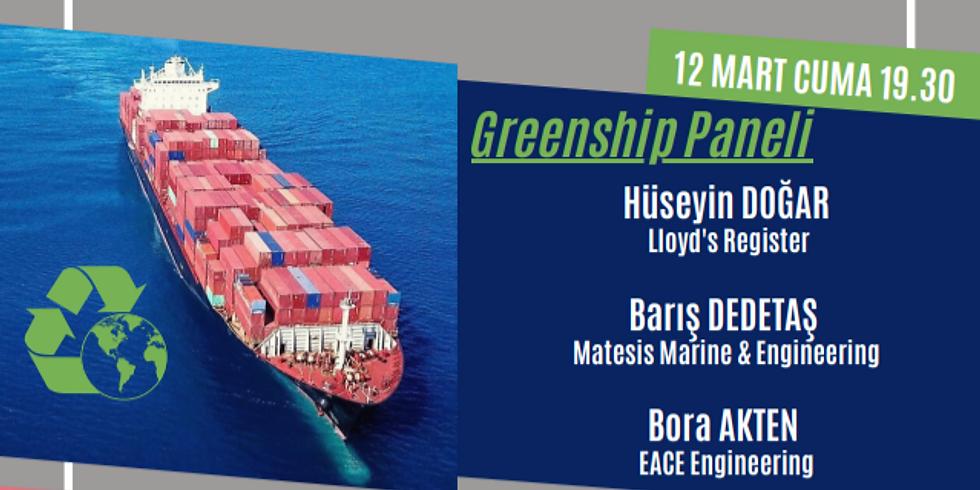 Greenship Paneli