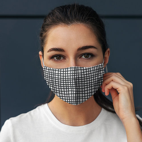 Face Mask Bold Checker