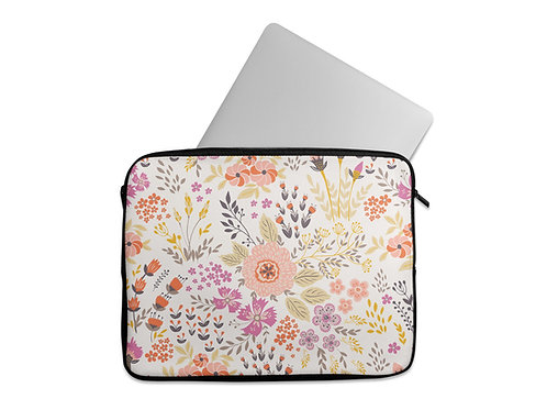 Laptop Sleeve Flowers 2