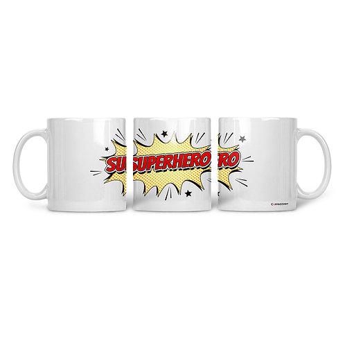 Ceramic Mug Super Hero