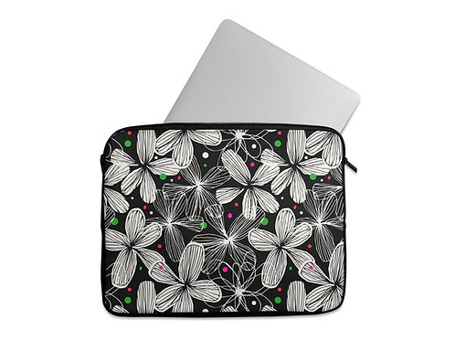 Laptop Sleeve Flowers