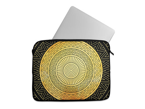 Laptop Sleeve Golden Cycle