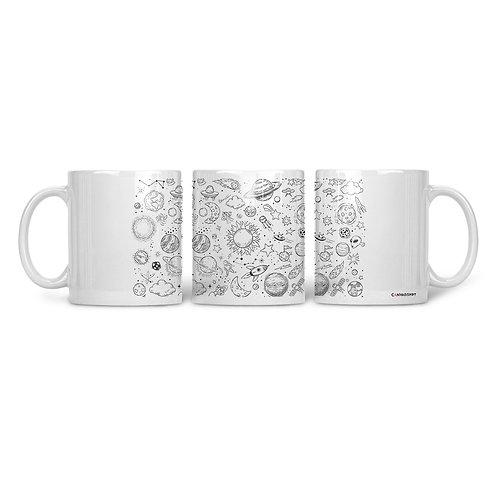 Ceramic Mug Space