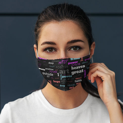 Face Mask Positive Words