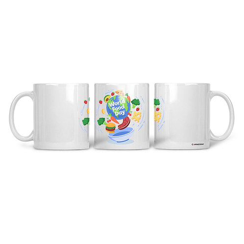 Ceramic Mug World Food Day
