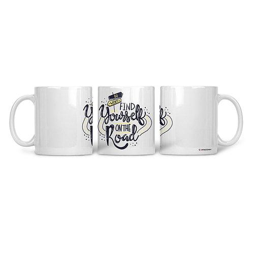 Ceramic Mug Find Yourself
