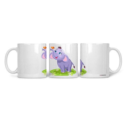Ceramic Mug Happy Elephant